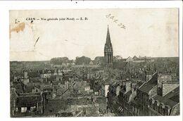 CPA-Carte Postale -France-Caen Vue Générale 1907 VM19822 - Caen