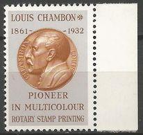 Louis CHAMBON - ChG 1 - BDF - Neuf** - Proofs