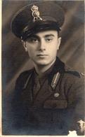 """FO-00354- VERA FOTOCARTOLINA  - GIOVANE MILITARE  """" 77 """" REGGIMENTO FANTERIA """" LUPI DI TOSCANA """" BRESCIA 15-12-1935 - War, Military"""