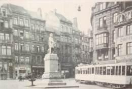 Belgique - Bruxelles - Photo - Format  Carte-Postale - Tram N° 4 - Trasporto Pubblico Stradale