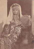 """Photographie Originale  AV 1900 Tunisie """" Femme Tunisienne Tribus A Identifier """" RARE Pas Sur Delcampe Ref  20/811 - Tunesien"""