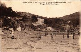 CPA St-CYR-sur-MER - Plage De La Madrague (106939) - Saint-Cyr-sur-Mer