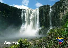 Venezuela Aponwao Falls UNESCO New Postcard - Venezuela
