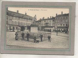 CPA -(01) PONT-de-VAUX -Aspect De L'Hôtel De La Reconnaissance Et Du Café Des Négociants De La Place Joubert - 1914 - Pont-de-Vaux