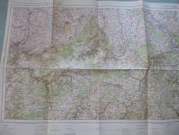 Carte Du S.G.A. N° 5 Bis LIEGE / BONN - 1/200 000ème - Avant 1914/18. - Carte Topografiche