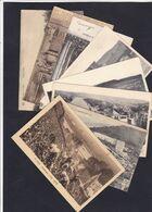 HUY : Lot 8 Cartes : Vendanges , Fort Vieux Pont , Collegiale , Chateau Ahin - Huy