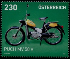 "Austria 2020 SM  ""Puch MV 50 V"" POSTFRISCH / MNH /** - 2011-... Nuovi & Linguelle"
