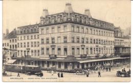 """BRUXELLES-BRUSSEL""""GRAND HOTEL DES BOULEVARDS AVEC TRAM""""PHOT.H.BERTELS - Bruxelles (Città)"""