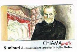 CHIAMAGRATIS - 120 PERSONAGGI PER IL PROGRESSO DELL' UMANITA'(93):  GIUSEPPE VERDI         - NUOVA  (RIF.CP) - Italia
