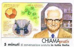 CHIAMAGRATIS - 120 PERSONAGGI PER IL PROGRESSO DELL' UMANITA'(114):  ALBERT BRUCE SABIN                - NUOVA  (RIF.CP) - GSM-Kaarten, Aanvulling & Voorafbetaald