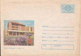 89200- RARESOAIA HOTEL, BUSS, TOURISM, COVER STATIONERY, 1986, ROMANIA - Hotels, Restaurants & Cafés