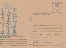 89211- CONRAD HAAS, ASTRONAUTICS PIONEER, COSMOS, SPACE, POSTCARD STATIONERY, 1990, ROMANIA - Europe