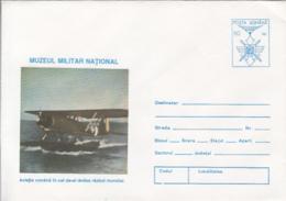 89249- PLANE, ROMANIAN AVIATION IN WW2, HISTORY, COVER STATIONERY, 1995, ROMANIA - WW2