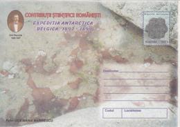89314- STARFISH, EMIL RACOVITA, BELGICA ANTARCTIC EXPEDITION, POLAR PHILATELY, COVER STATIONERY, 1999, ROMANIA - Expediciones Antárticas