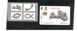 LETTONIA (LATVIA) -        1998 SYMBOLS                 -  USED - RIF. 10589 - Lettland