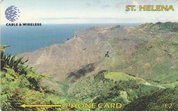St. Helena, 325CSHC, £2, Sandy Bay, Only 2.000 Issued, 2 Scans - Sainte-Hélène