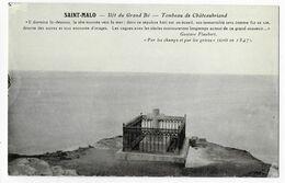 35 - SAINT MALO  - Tombeau De Châteaubriand Sur L' Ilôt Du Grand Bé   BA - Saint Malo