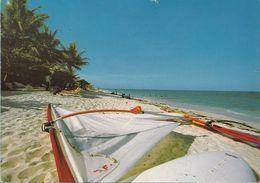 Kenya Mombasa Barca A Vela Diani Spaggia Playa Beach - Kenya