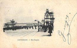 Bruxelles - Rue Royale (1902- Au Corset Gracieux) - Bruxelles (Città)
