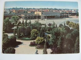 TREVISO  -- STAZIONE -- BAHNHOF  GARE,      POSTCARD  USED - Stations Without Trains