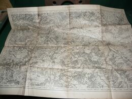CARTE D ETAT MAJOR :  CHALONS SUR MARNE - Carte Topografiche