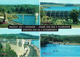 LA GILEPPE -BUTGENBACH-EUPEN-ROBERTVILLE-LES 4 BARRAGES-DEN 4 TALSPERREN- DE 4 AFDAMMINGEN - Gileppe (Barrage)