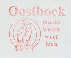 Meter Cut Netherlands 1985 Bird - Owl - Book - Vogels