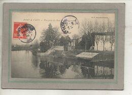 CPA -(01) PONT-de-VAUX - Aspect Du Lavoir Sur Le Bord De La Reyssouze Près Du Pont Des Cordeliers En 1908 - Pont-de-Vaux