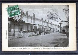 Hyères - Les Salins - Agence De La Compagnie Et Bureau De Postes - Hyeres