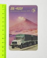 USSR ZIL-4331 Calendar 1987 Avtoexport - Camion