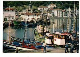 SAINT JEAN DE LUZ (64) - Le Port, Au Fond Ciboure - Saint Jean De Luz