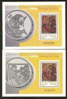 2001-ED. 3818 Y 3819 H.B.-SANTO DOMINGO DE SILOS-NUEVO - 1931-Heute: 2. Rep. - ... Juan Carlos I