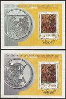 2001-ED. 3818 Y 3819 H.B.-SANTO DOMINGO DE SILOS-USADO- - 1931-Heute: 2. Rep. - ... Juan Carlos I