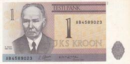 ESTONIE  Billet De  1 Kroon  1965 - Estland