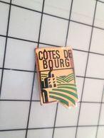 216a Pins Pin's / Rare & Belle Qualité THEME BOISSONS / COTES DE BOURG VIN BORDEAUX - Beverages