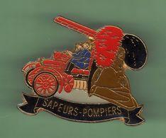 SAPEURS POMPIERS *** CAMION N°38 *** Signe BADGES IMPACT *** (B-1) - Pompiers