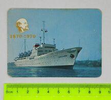 USSR Morflot Vladivostok Calendar 1970  Far Eastern Steamship Company 1870 - 1970 - Bateaux