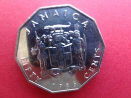 Jamaique  50  Cents  1986  Km 65 - Jamaica