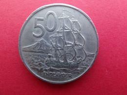 New Zealand  50  Cents  1967  Km 37.1 - New Zealand