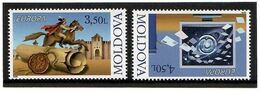 Moldova 2008 . EUROPA 2008. Letters. 2v: 3.50, 4.50 . Michel # 611-12 - Moldavia