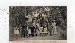 FORT DAUPHIN GROUPE D'ENFANTS EUROPEENS CREOLES INDIENS SENEGALAIS MALGACHES - Madagascar