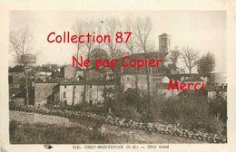 79 ☺♦♦ CHEF BOUTONNE < VUE GENERALE COTE NORD - Chef Boutonne