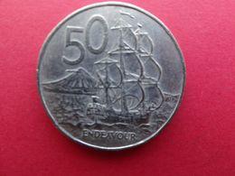 New  Zealand  50  Cents  1987  Km 63 - New Zealand