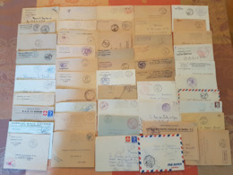 Algerie Française - Lot De 50 Lettres En Franchise Militaire - DEPART 1 EURO - Années 1959-1962 - Brieven En Documenten