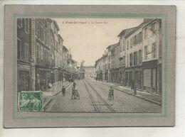 CPA - (01) PONT-de-VAUX - Aspect De La Grande Rue En 1908 - Pont-de-Vaux