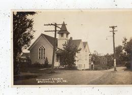 METHODIST CHURCH BROWNVILLE JCT, ME (CARTE PHOTO ) - Etats-Unis
