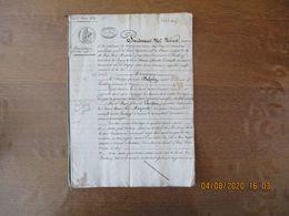 LAMBERCY COMMUNE DE DAGNY LE 1er MARS 1839 DONATION PAR M.PHILIPPE FRANCOIS DELABY AU PROFIT DE M. ET MME LARCHER JOSEPH - Manoscritti