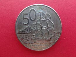 New Zealand  50  Cents  1981  Km 37.1 - New Zealand