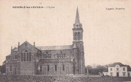 Heverlee - De Kerk En Omgeving - Uitg. Lagaert, Brussel - Kirchen U. Kathedralen