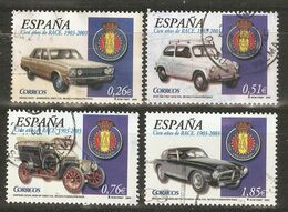 ESPAÑA 2003 EDIFIL 3996 USADO CIEN AÑOS DE RACE - 1931-Heute: 2. Rep. - ... Juan Carlos I